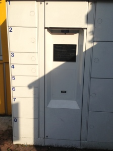 The ByBox Locker, I've never seen one of these before!!