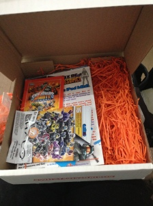 Opening the Box of Awesome!