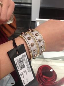 High End Haul Versace Bracelet Gray