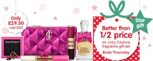 boots star gift juicy couture