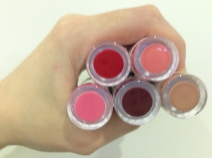 A handful of £1 lipsticks!