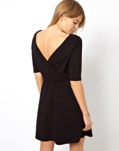 ASOS Skater Wrap Back