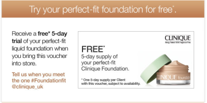 Clinique Free Foundation