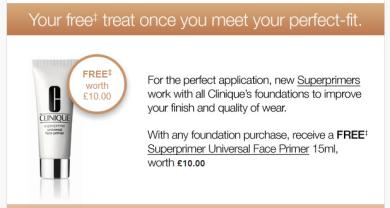 Clinique Free Primer