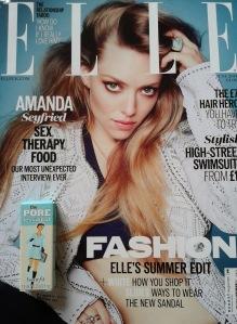 Elle June 2014 with free Benefit Porefessional Primer