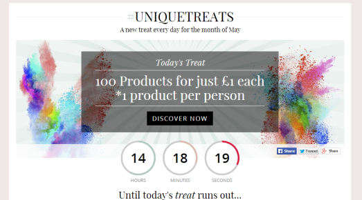 Unique Treats 100 for 1