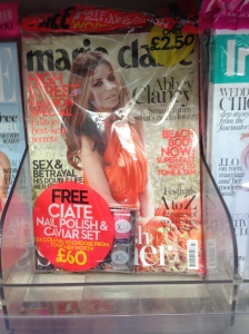 Marie Claire July 2014 with Free Ciate Manicure Set