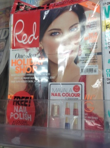 Red July 2014 Edition with Free Mavala Nail Polish