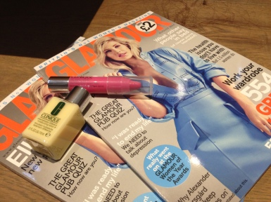 Glamour Clinique Freebies - Chubby Stick and Dramatically Moisturising +
